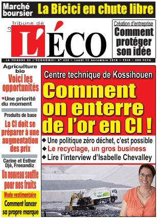 LA TRIBUNE DE L'ECO